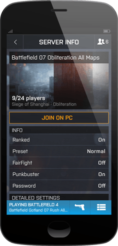 Matchmaking failed bf4